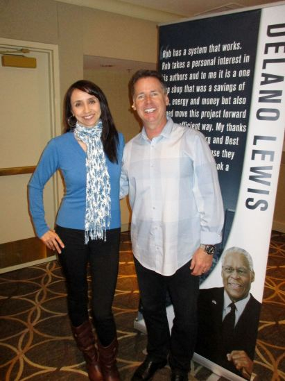 Attending a seminar in LA with founder of Best Seller Publishing Rob Kosberg who taught on how to publish, promote, and profit from, your book. I so enjoy going to live events to learn new skills and network!