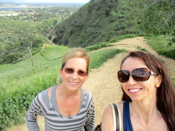 Hiking in Granada Hills, CA with my dear friend Lisa. I love being out in nature and taking in the beauty of God's creation.