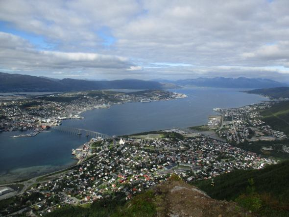 My hometown of Tromso where I grew up, above the Arctic Circle, land of the midnight sun and northern lights. In August of 2016 I went back to visit for the first time since I moved to California over 20 years ago.